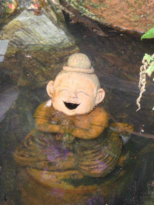 Laughing Thai statue, Thailand
