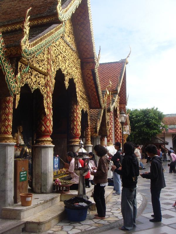 Temple of Wat Doi Suthep, Chiang Mai Thailand