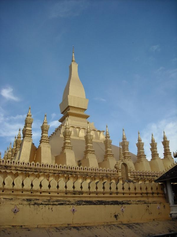 Pictures of Wat Pha That Luang, Vientiane Laos