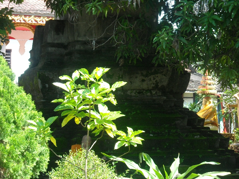 The oldest temple in Vientiane, Laos