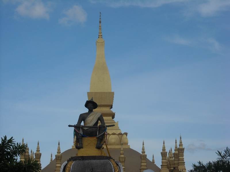 The national symbol of Laos, Vientiane Laos