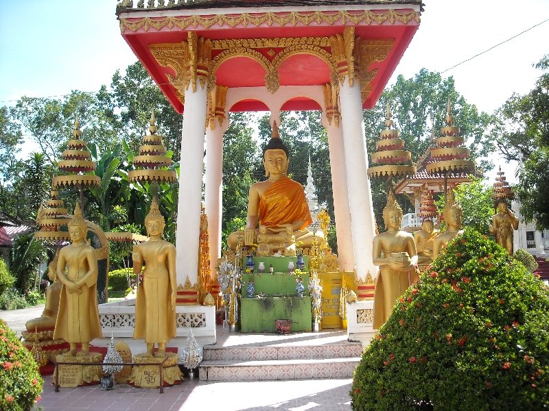 Photos of Wat Si Saet, Vientiane Laos