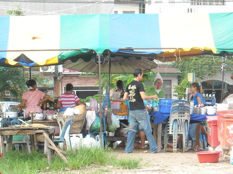 Eateries and local food stalls in Laos, Laos