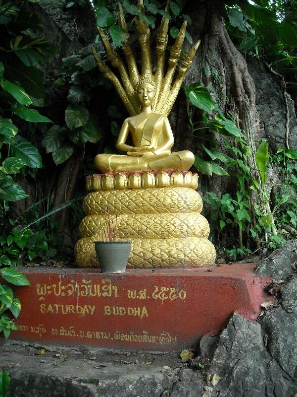 Shrine of the Saturday Buddha, Laos