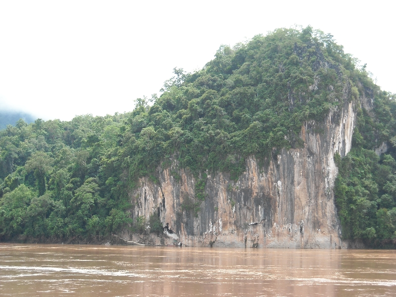 The caves on the Mekong River, Luang Prabang Laos