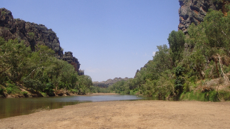 Day trip to Windjana Gorge, Australia
