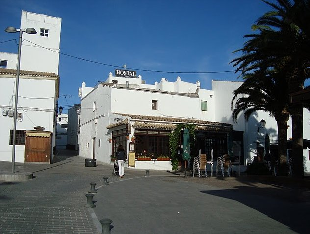 Centre of Conil de la Frontera, Spain