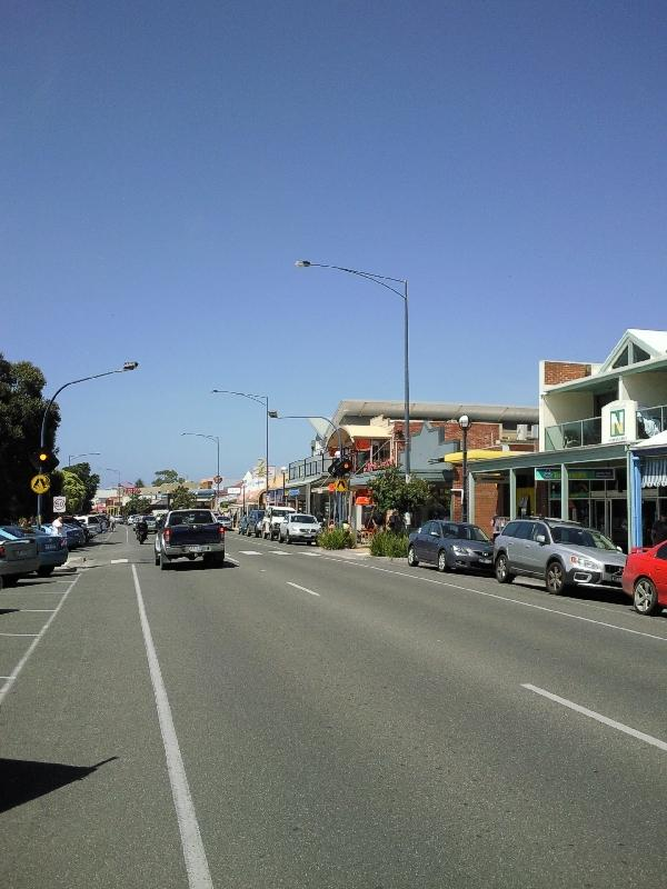 The streets of Apollo Bay, Apollo Bay Australia