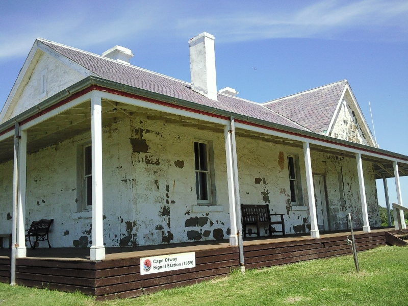 Cape Otway Australia The Lighthouse keepers house