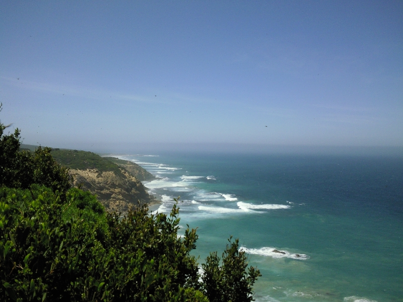 View over the Southern Ocean, Cape Otway Australia