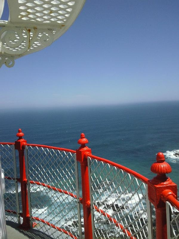Panorama from the top of the lighthouse, Australia