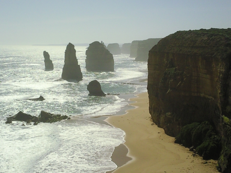 Pictures of the 6 apostles, Port Campbell Australia