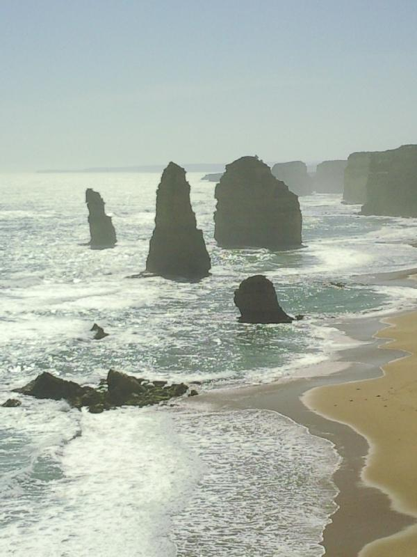 Photos of the apostles, Port Campbell Australia