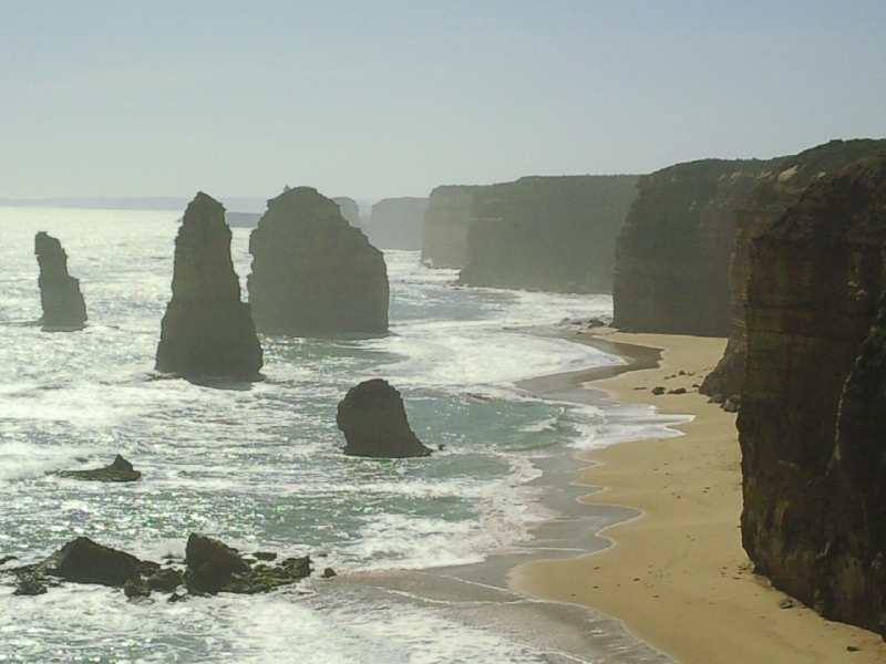 Port Campbell Australia 12 Apostles at sunset