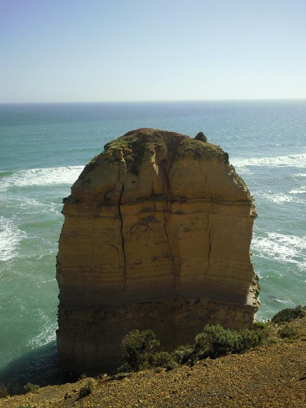 Rockformation at the 12 apostles, Port Campbell Australia