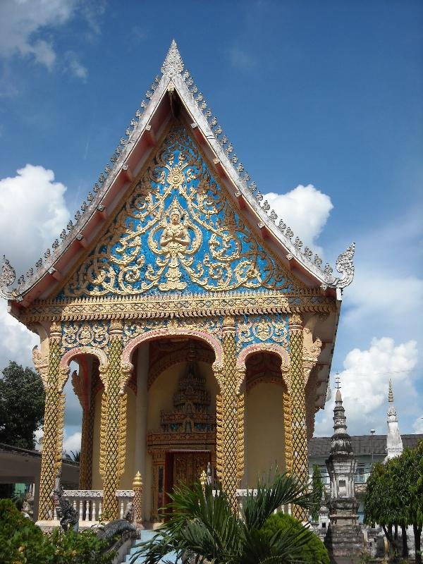 Temples in Savannakhet, Laos