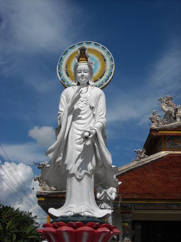 Beautiful statues in Savannakhet, Laos