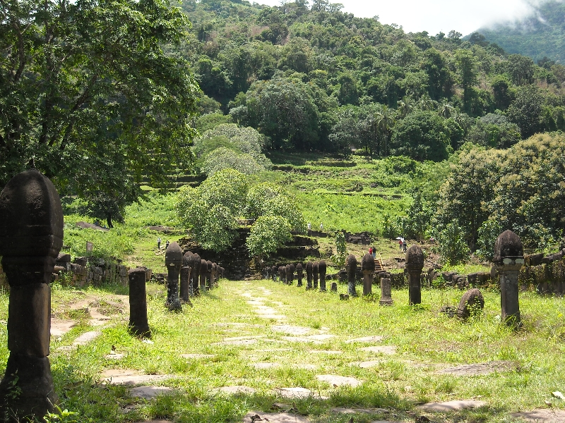 Temple valley of Preah Vihear, Cambodia