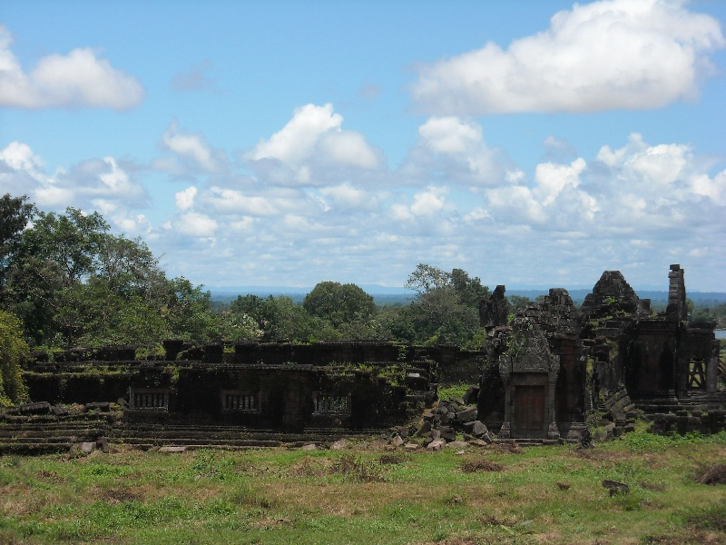 The sacred valley of Preah Vihear, Cambodia