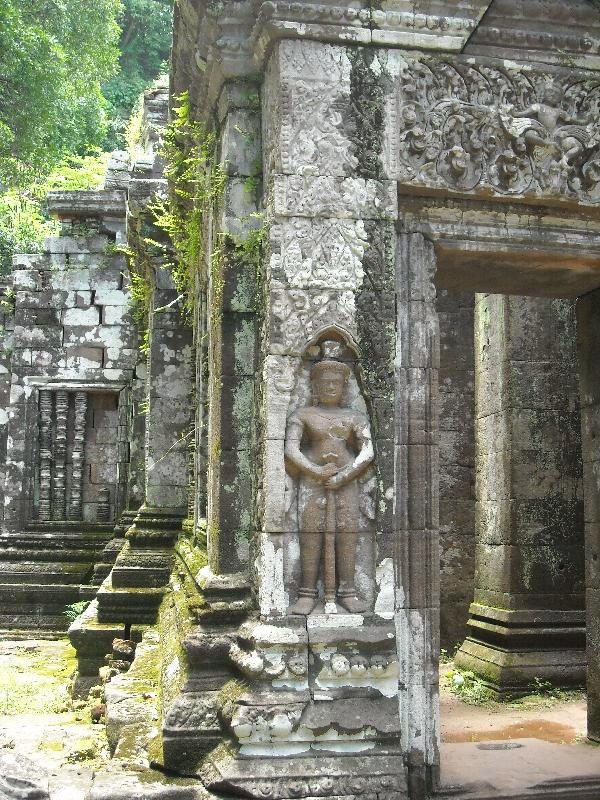 The temple ruins of Preah Vihear, Cambodia