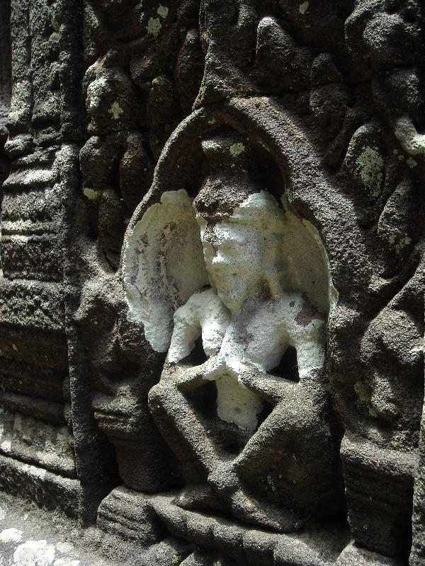 BeautifulHindu carvings, Cambodia