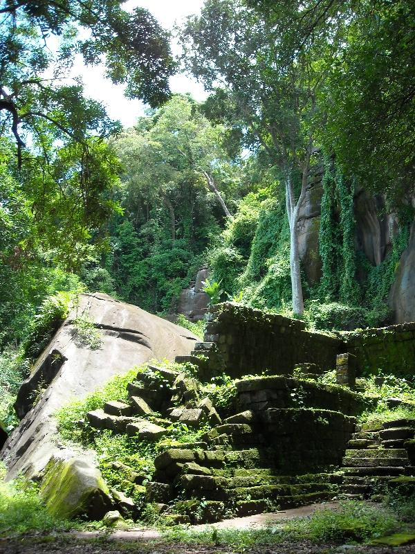 Amazing scenery of the Dangrek, Preah Vihear Cambodia