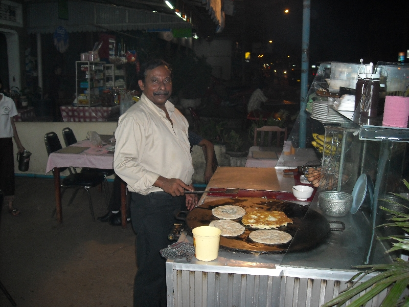 Delicious food on the night markets, Stung Treng Cambodia