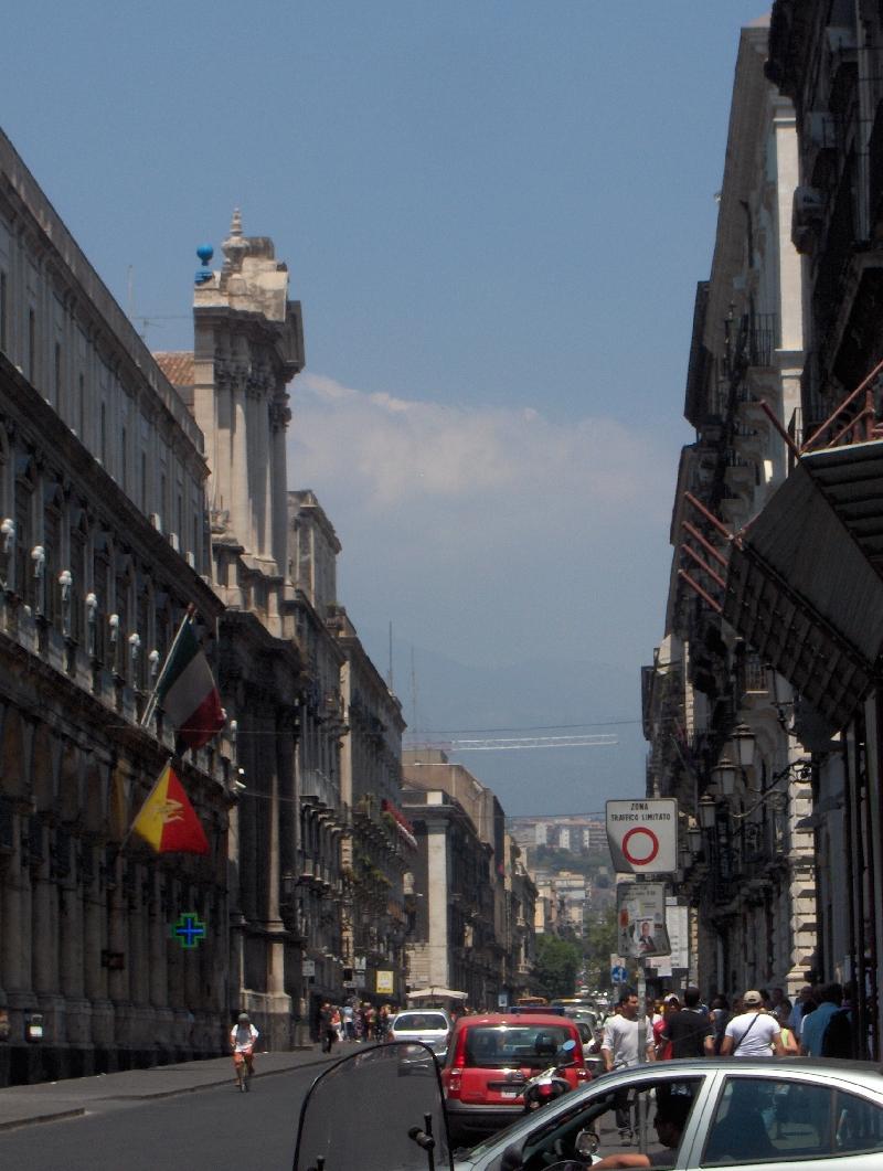 Via Etnea in Catania, Italy
