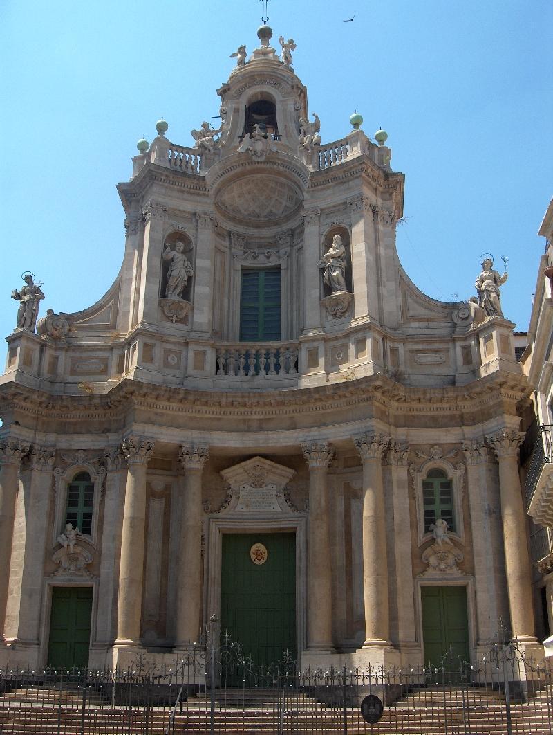 Chiesa della Collegiata in Catania, Italy