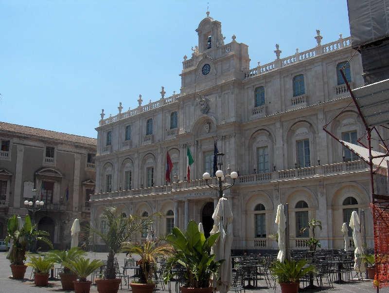 The university of Catania, Italy