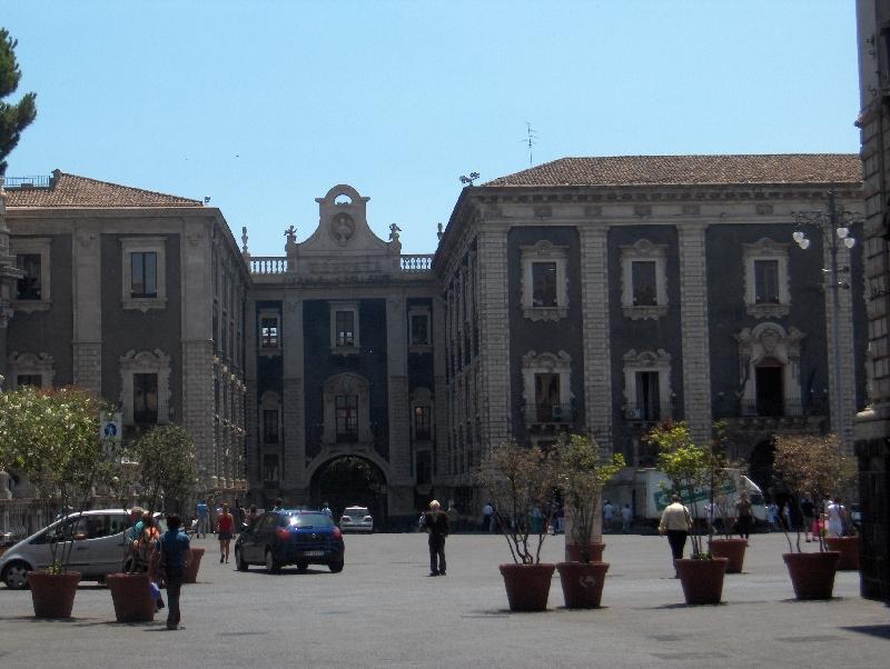 Piazza del Duomo in Catania, Italy