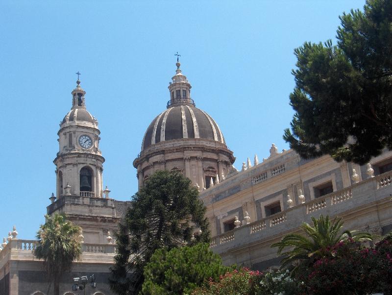 Le cupole di Catania, Italy