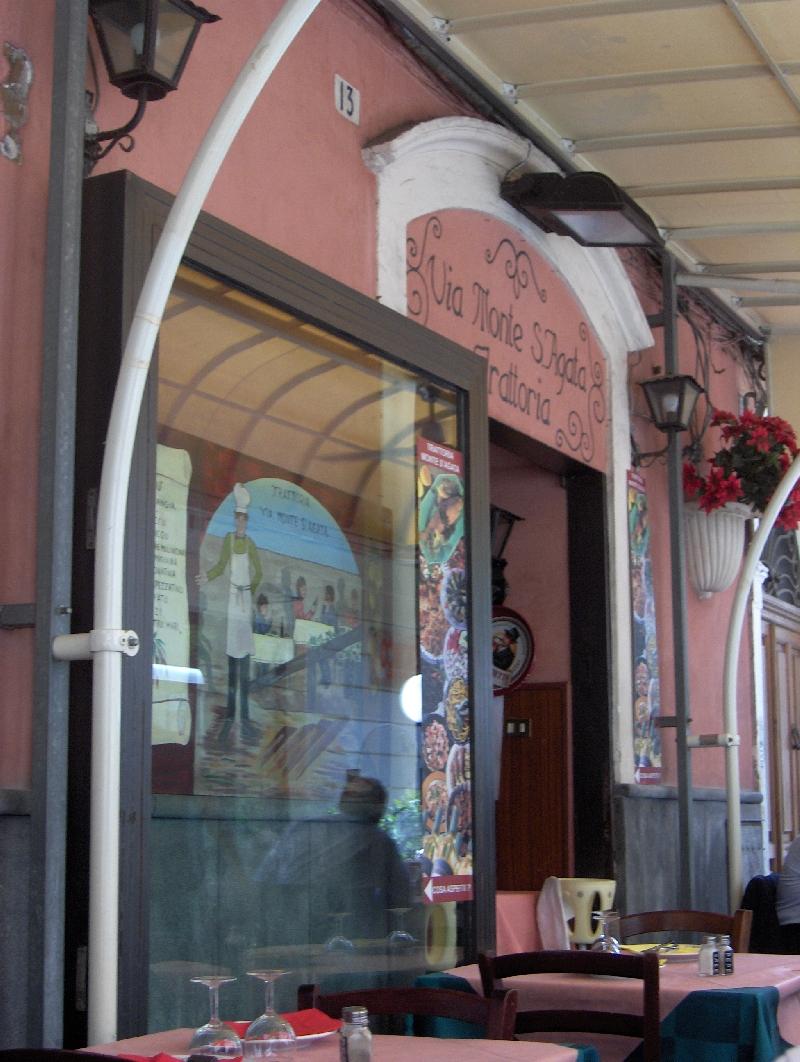 Trattoria Via Monte S'Agata in Catania, Italy