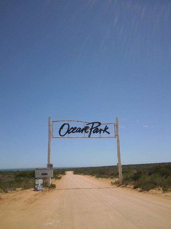 The Ocean Park in Denham, Australia