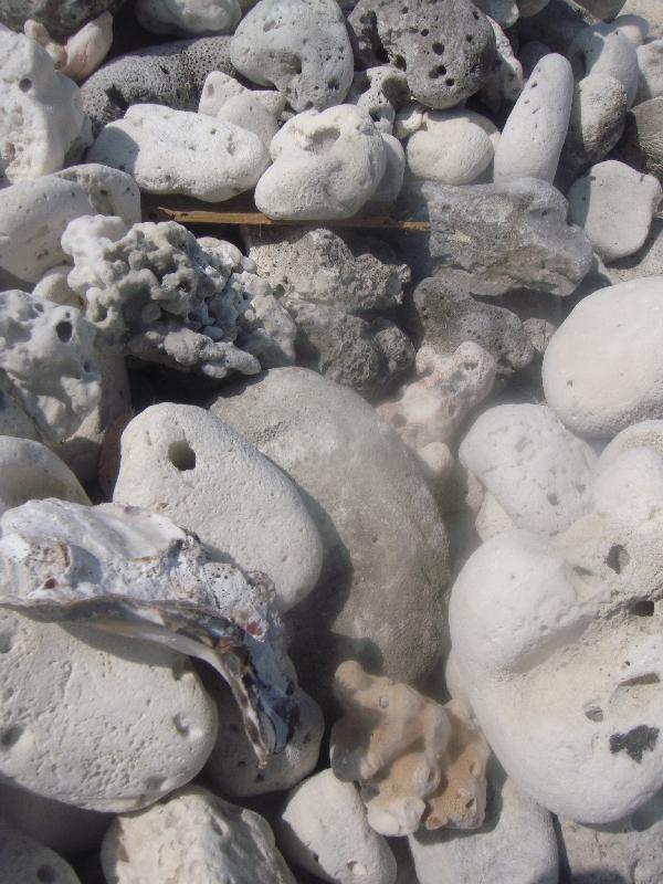 Milion rocks on a vulcanic island, Thailand