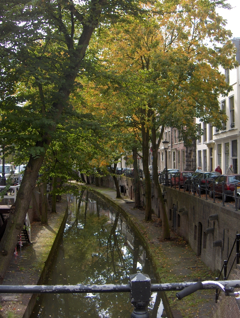 The graceful canals of Utrecht, Utrecht Netherlands