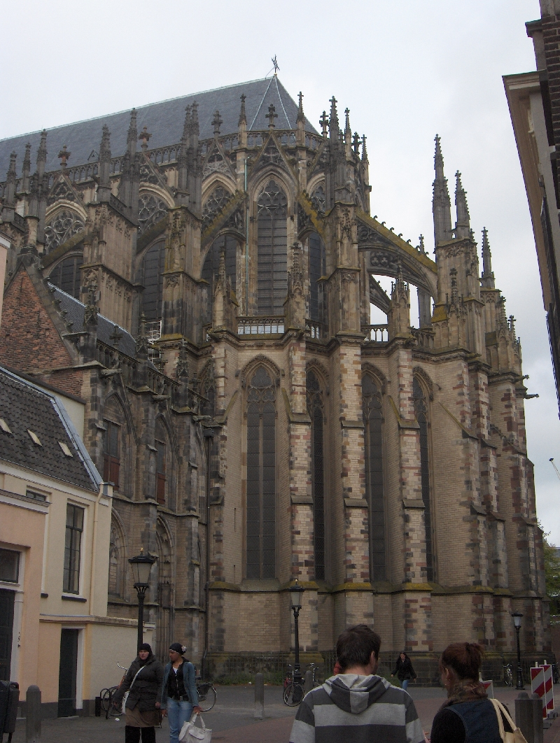 The Dom Church in Utrecht, Netherlands