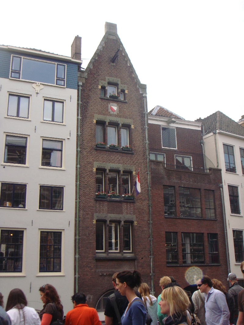 Medieval buildings in Utrecht, Netherlands