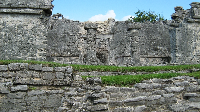Old Mayan ruins in Tulum, Mexico