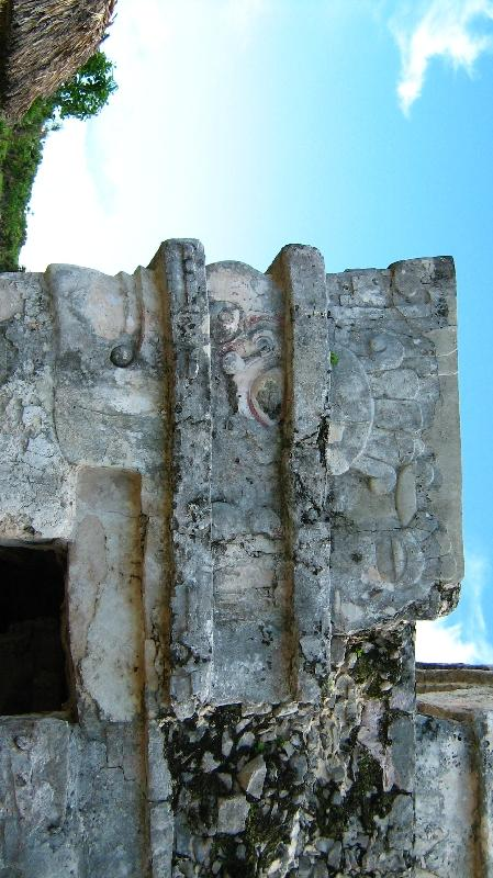 Pictures of the archeological site in Tulum, Mexico
