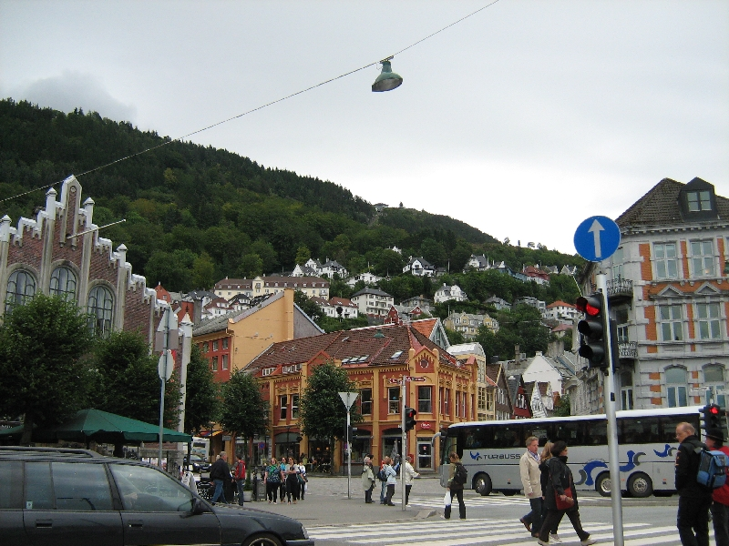 The city of Bergen in Norway Bergen