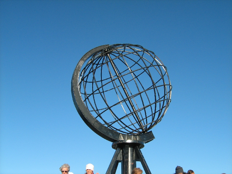 The Globe on North Cape, Norway