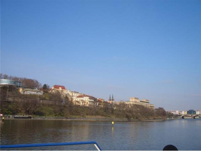 Pictures of the Vltava River in Prague, Czech Republic