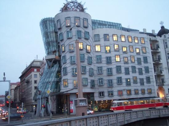The Fred and Ginger Dancing House, Prague Czech Republic