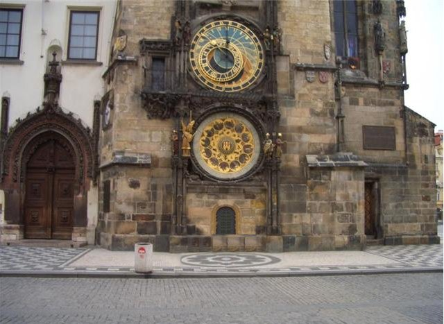 The Czech Astronomical Clock, Prague Czech Republic
