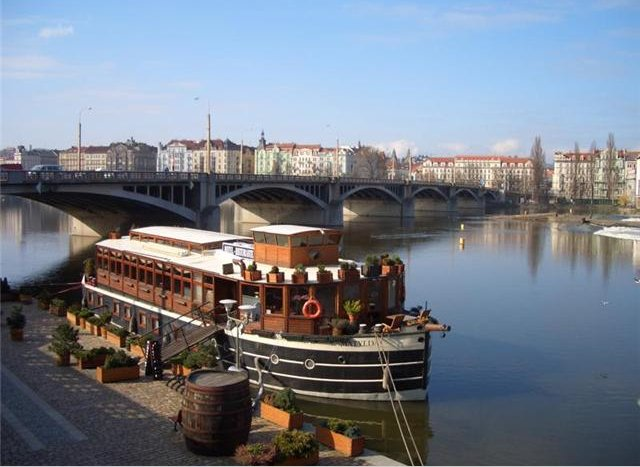 Cruise on the Vltava River, Czech Republic