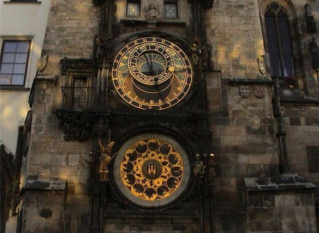 The Astronomical Clock in Prague, Czech Republic