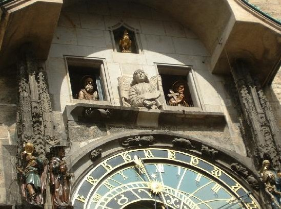 Christ and the Apostles, Astronomical Clock, Czech Republic