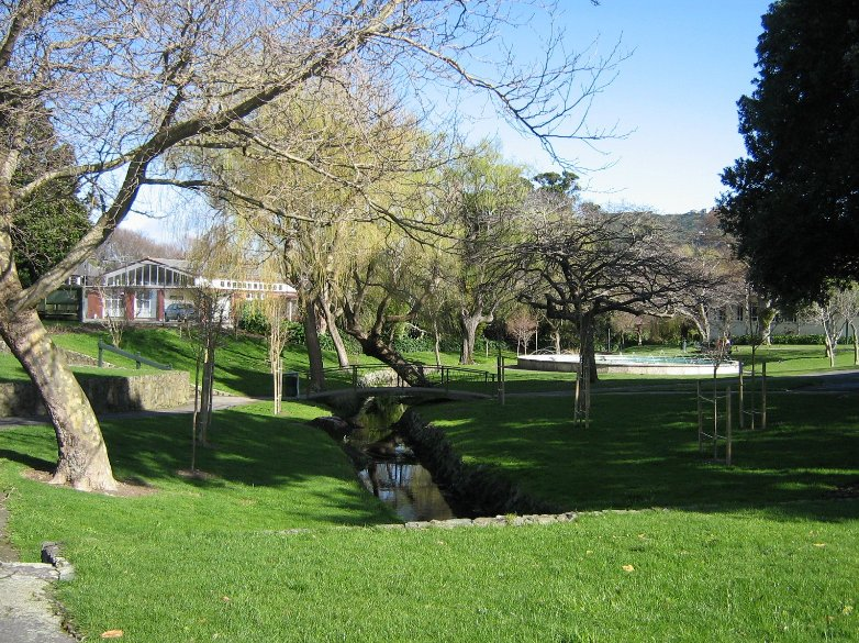 Park in Wellington's Hutt Valley, New Zealand