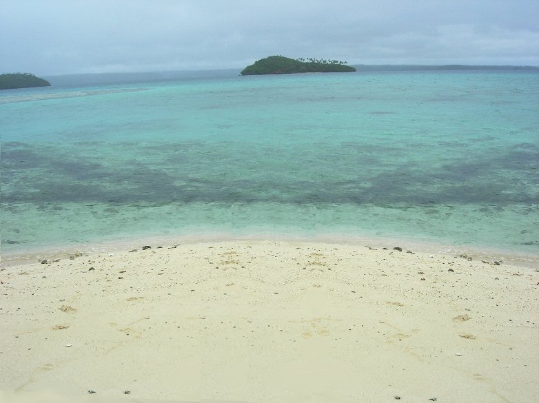 The beach of Vava'u, Tonga